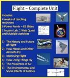 Flight Complete Unit Bundle - PowerPoint Lessons, Workshee