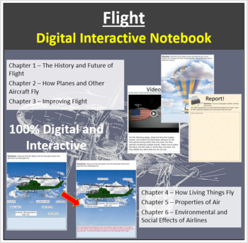 Flight - Digital Interactive Notebook