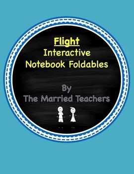 Flight Interactive Literature & Grammar Notebook Foldables