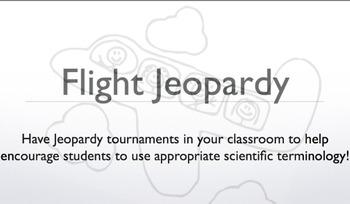Flight Jeopardy Activity