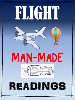 Flight: Man-made flight - Science readings and activities