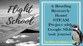 Flight School Reading Research STEAM Lesson and Digital Ta