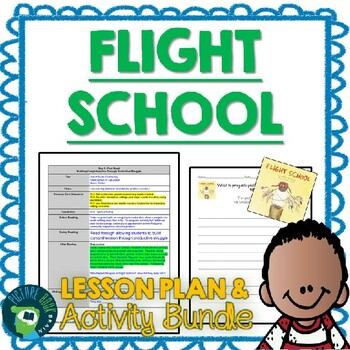 Flight School by Lita Judge 4-5 Day Lesson Plan and Activities