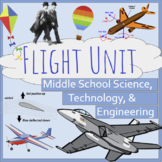 Flight Unit Lesson Bundle- Middle School Tech, Science, En
