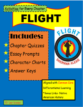 Flight by Sherman Alexie- Activities and Quizzes