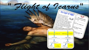 """Flight of Icarus"" Close Read Lesson Bundle"