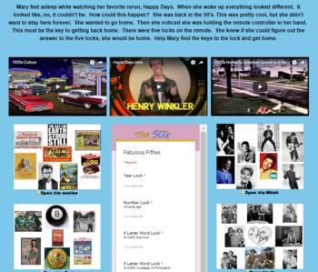 Flight of the Fabulous Fifties Digital Breakout (7.G.B.5)