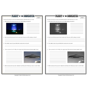 Flight of the Navigator Movie Guide + Activities - Answer Key Inc. (Color + B&W)