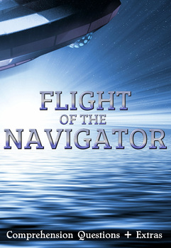 FREE: Flight of the Navigator Movie Guide + Activities - Ans Key. (Color + B&W)