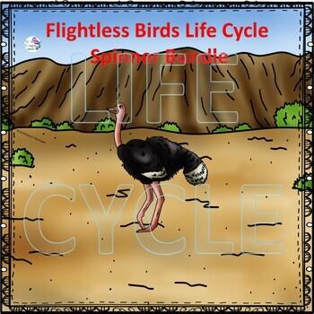 Flightless Birds Life Cycle Spinner Bundle