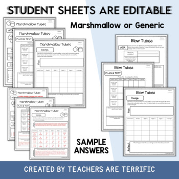 STEM Engineering Activity Featuring Blow Tubes & Newton's Laws of Motion