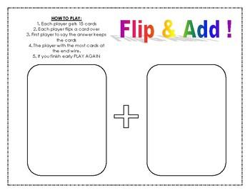 Flip & Add Math BUNDLE