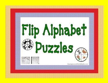 Flip Alphabet Puzzles