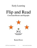 Flip and Read: Consonant Blends and Digraphs