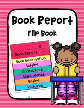 Flip Book Report