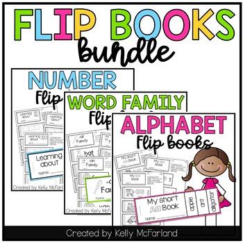 Flip Book Bundle {Alphabet, Numbers, Word Families}