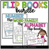 Flip Book Bundle {Alphabet, Numbers, Word Families}
