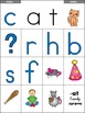 Flip Book CVC Words -at Family