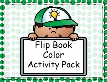 Flip Book Color Activity Pack