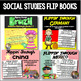 Flip Book Growing Bundle: Country, Holiday, and Math Flip Books for Grades 3-5