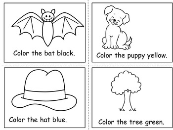 Learning about Colors Emergent Reader