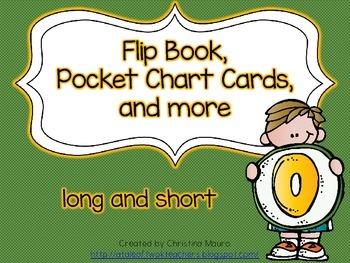 Flip Book, Pocket Chart Cards, and more - Long and Short O