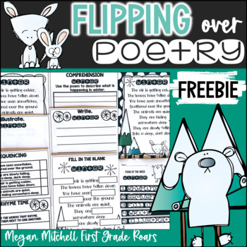Poetry Flip Book Winter...Freebie