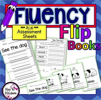 Reading Fluency Flip Book Readers