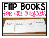 Flip Books: Use for ALL Subjects!