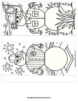 Flip Book: Snowmen Friends