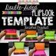 Editable Flip book template