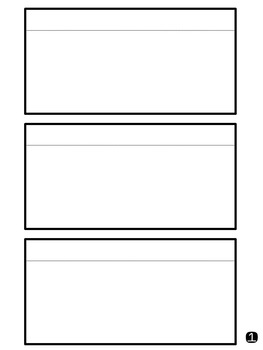 Flip Book Templates-Personal or Commercial Use
