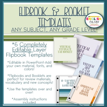 Flip Book Templates Booklet