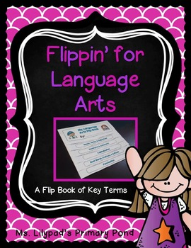 Flip Book for Language Arts Terms and Definitions