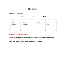 Flip Book for Scott Foresman 5th Grade Science