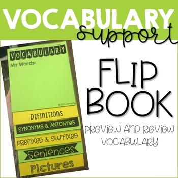 Flip Books Bundle: Self-Advocacy, Study Skills, Vocabulary