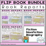 Flip Books: Fiction, Nonfiction, Biography 3rd & 4th Grade