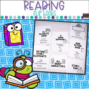 Reading Flip Books- For Any Text