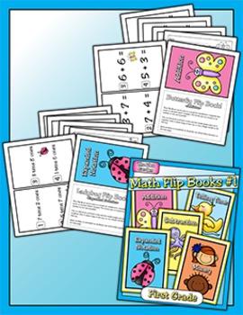 Flip Books - Math #1 (First)