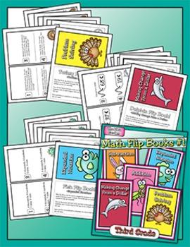 Flip Books - Math #1 (Third)