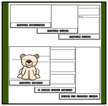 Arctic & Antarctic Ocean Animal Flip Books for Informatvie Writing about Animals