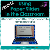 Technology - Flip Camera or iPad Activity - How To Use a Paper Slide