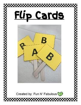 Flip Card Fun