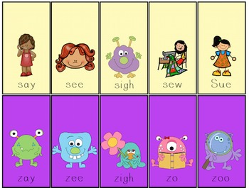Flip Cards for Apraxia