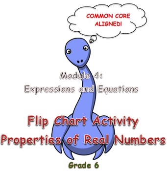 Flip Chart Activity Properties of Real Numbers