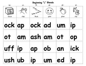 Flip Charts for Beginning Blends