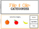 Flip & Clip: Categories