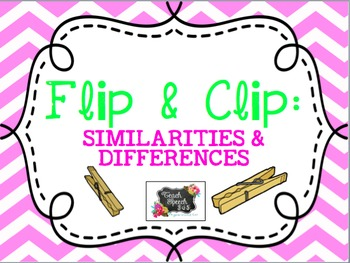 Flip & Clip: Similarities & Differences
