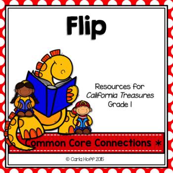 Flip  - Common Core Connections-Treasures Grade 1