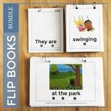 Speech Therapy Activities Bundle. Grammar and Language Flip Books